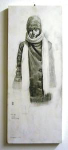 09f 50x20 cm. grafite su tavola