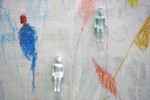"""Venerdì 16 Settembre 2016 Leonardo Greco """"Kouroi, dei ed agoni"""" La coincidenza degli opposti Produzione: Artekyp OpenStudio   Inaugurazione: ore 18 con l'artista"""