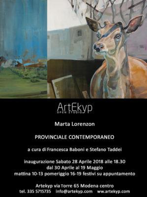 Marta Lorenzon - Aprile 2018